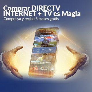 COMPRAR DIRECTV + TV ES MAGIA